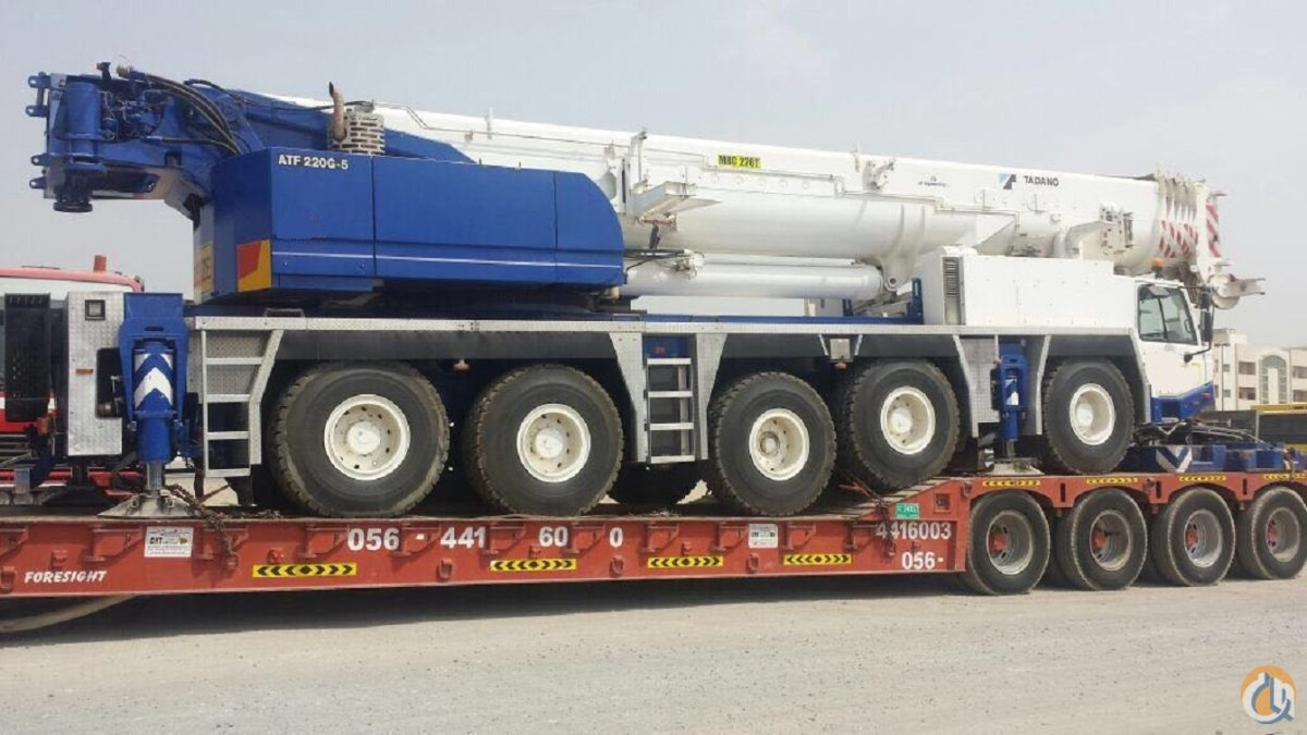 2011 TADANO AFT 220G-5    EXCELLENT CONDITION LOW HOURS Crane for Sale on CraneNetwork.com