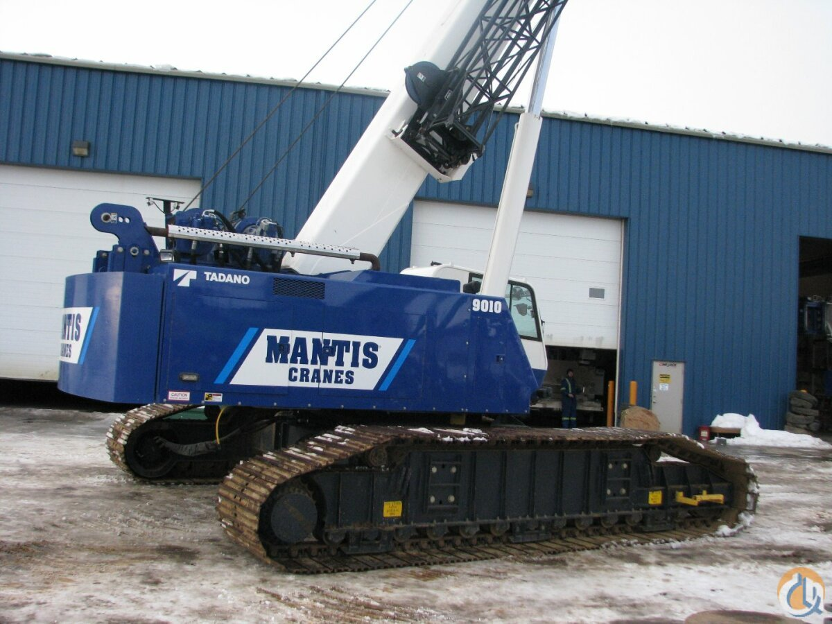 New Mantis 9010 Telescopic Crawler Crane Crane for Sale on CraneNetwork.com