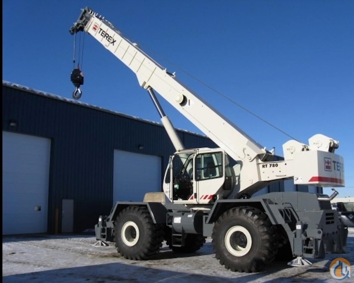 Sold 2011 Terex RT780 Crane for  on CraneNetwork.com