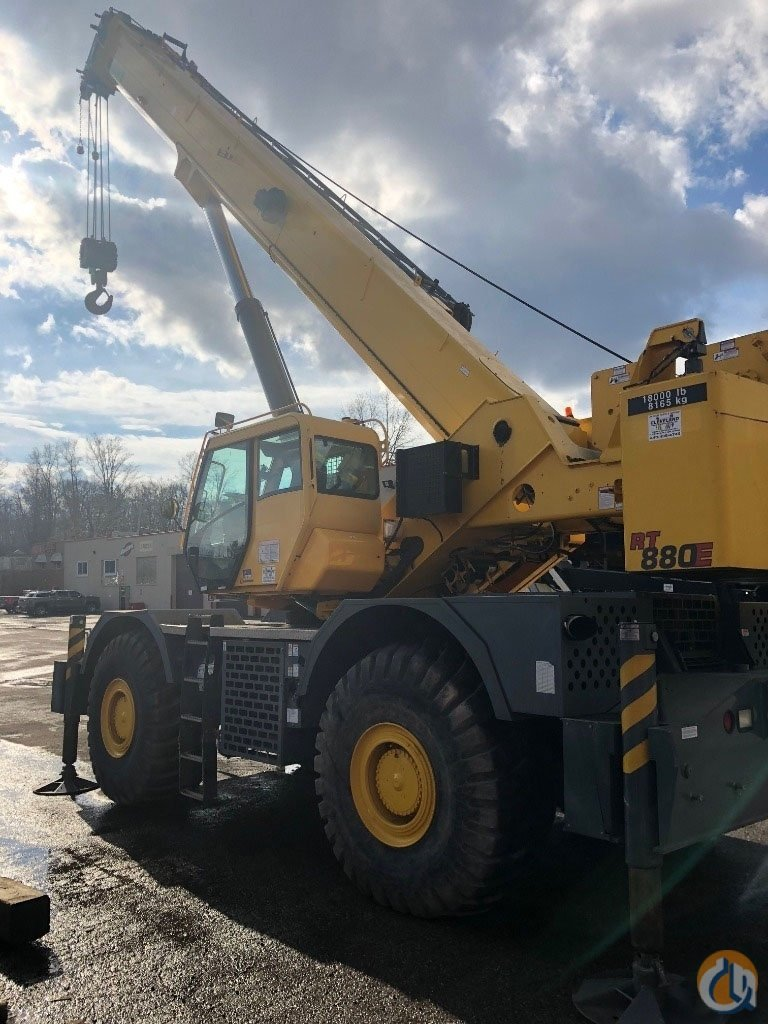 2012 Grove RT 880E Tier 3 Engine Crane for Sale or Rent in Cleveland Ohio on CraneNetwork.com