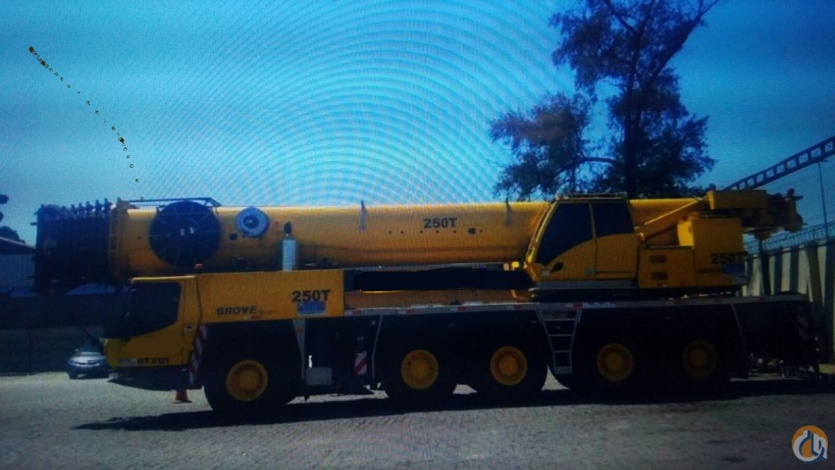 2013 GROVE GMK 5220 ALL TERRAIN CRANE EXCELLENT Crane for Sale on CraneNetworkcom