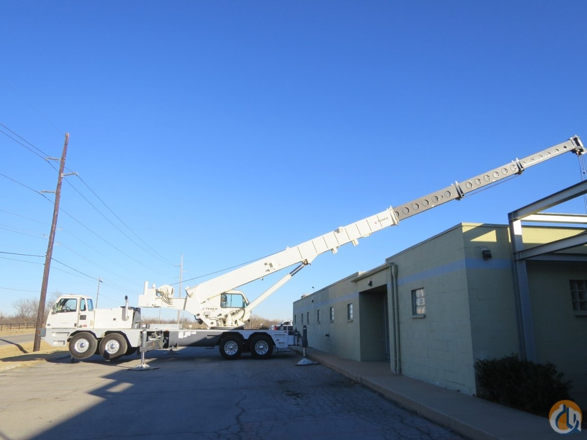 TEREX T780 LOW HOURS AND LOW MILES CLOSE TO NEW CONDITION CUMMINS ENGINE MANUAL TRANSMISSION AIR CONDITIONING Crane for Sale in Tulsa Oklahoma on CraneNetwork.com