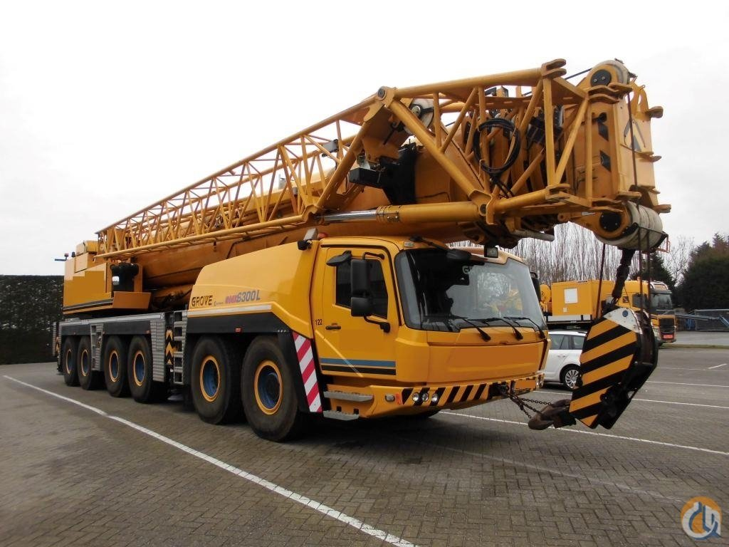 2014 Grove GMK6350L Crane for Sale on CraneNetwork.com