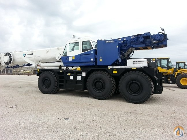 2019 Tadano GR1600XL 160 ton rough terrain Crane for Sale in Houston Texas on CraneNetwork.com