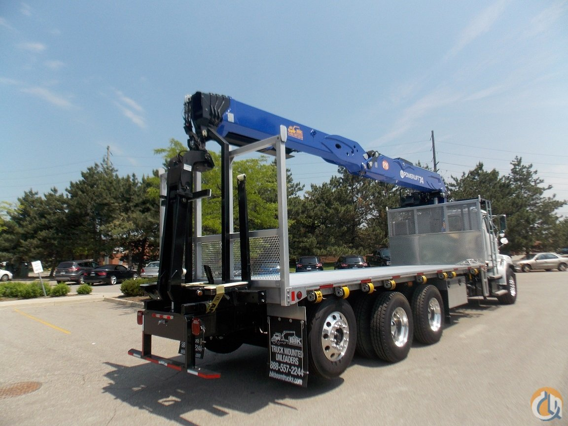 NEW POWERLIFT 74 WALLBOARD BOOM on NEW 2017 WESTERN STAR TRI-AXLE  24 4 ALUM DECK Crane for Sale in Toronto Ontario on CraneNetworkcom