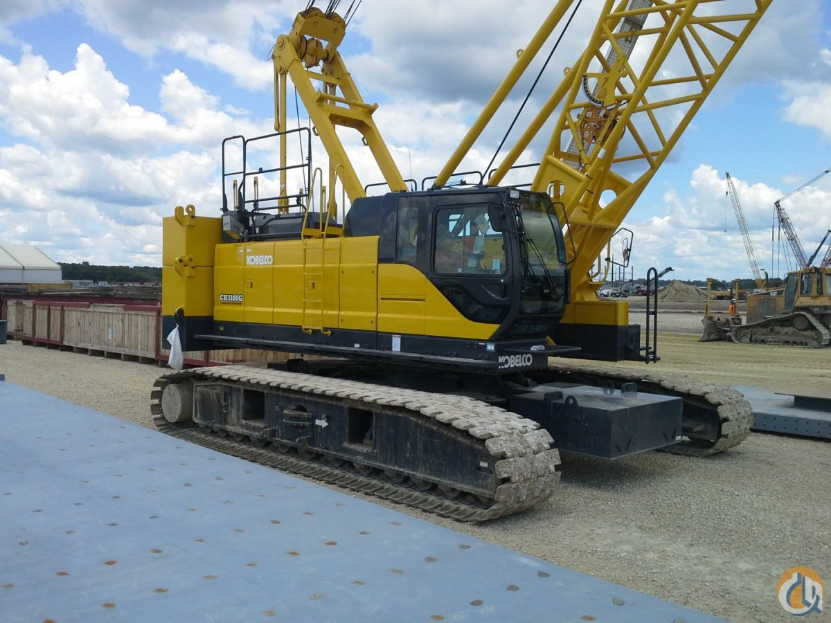2013 KOBELCO CK1100G Crane for Sale in Omaha Nebraska on CraneNetwork.com