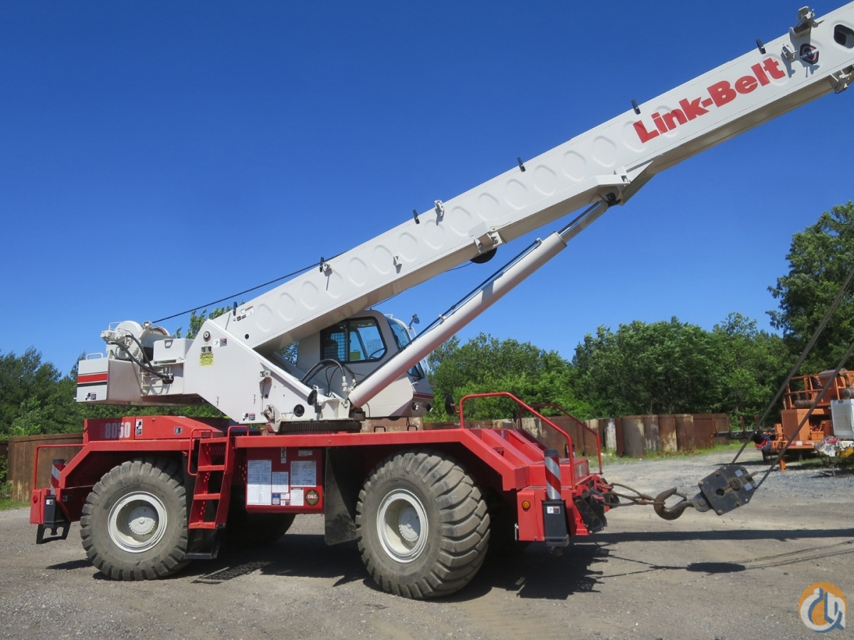 2014 LINK BELT RTC 8050-II Crane for Sale in Baltimore Maryland on CraneNetwork.com