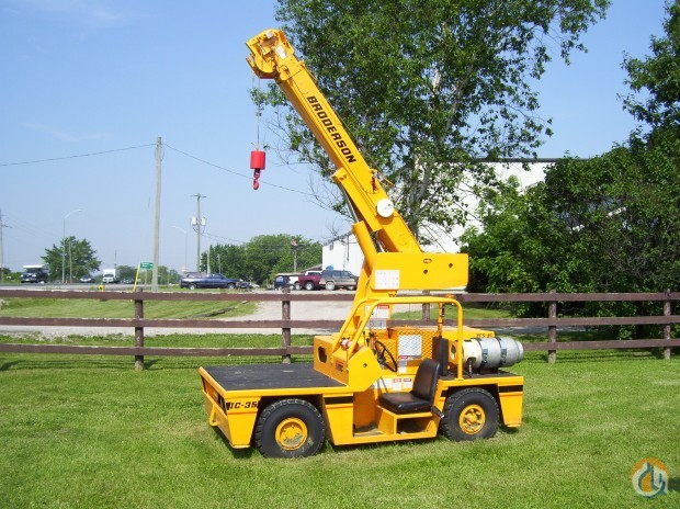 2017 Broderson IC35 Crane for Sale in Lenexa Kansas on CraneNetworkcom