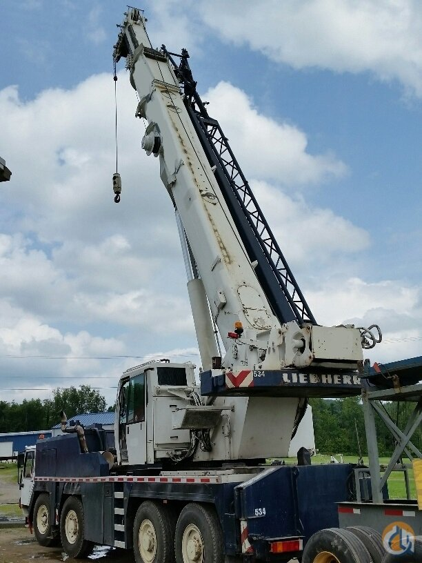 Sold 2002 Liebherr LTM1080-1L Crane for  in Fort Pierce Florida on CraneNetwork.com