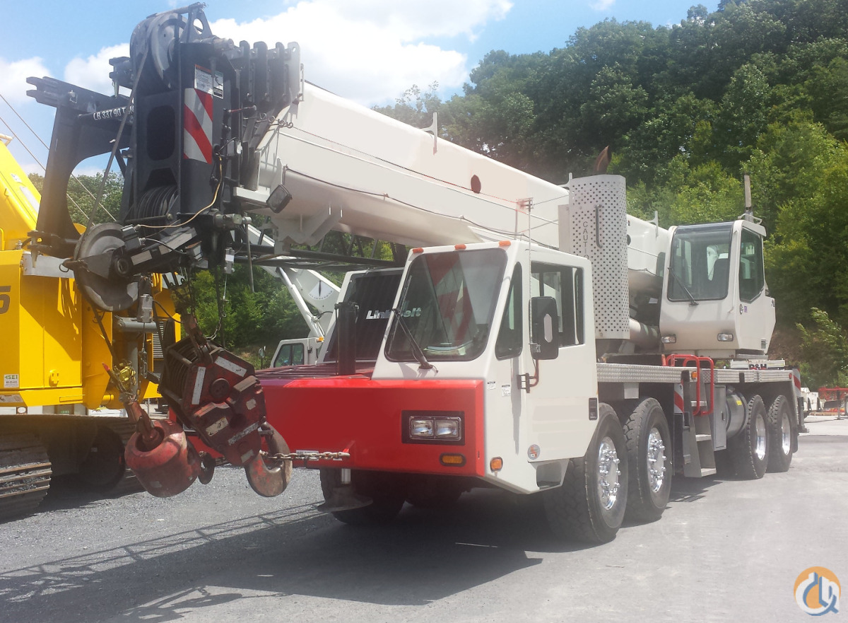 Link-Belt HTC-86100 Truck Mounted Telescopic Boom Cranes Crane for Sale 2011 Link-Belt HTC-86100 SEI 7688U in Syracuse  New York  United States 205908 CraneNetwork