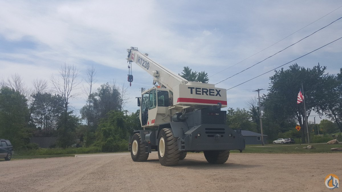 1996 Terex RT230 30 TON Crane for Sale in Comstock Park Michigan on CraneNetworkcom