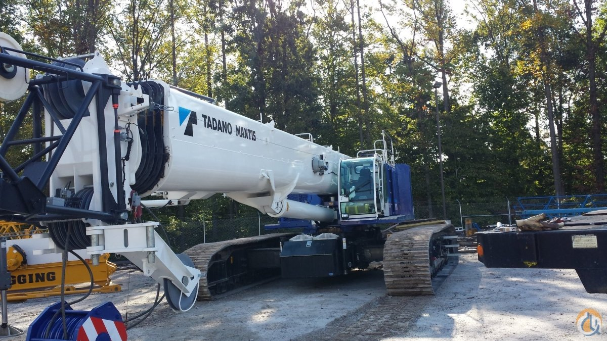 130 TOn Mantis Crane for Sale or Rent in Baltimore Maryland on CraneNetworkcom