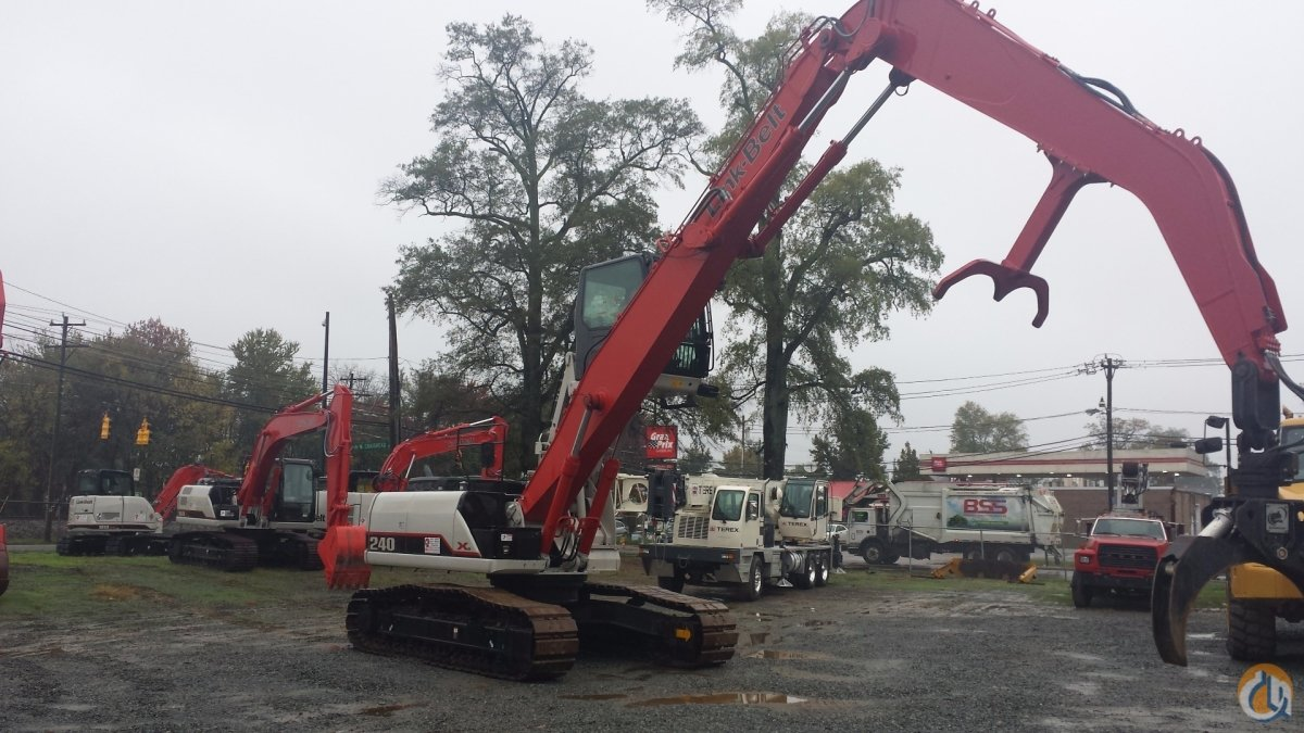 2014 Link-Belt 240 X2 Crane for Sale in Charlotte North Carolina on CraneNetwork.com