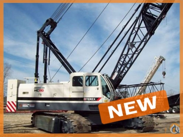 2017 Terex HC110 Crane for Sale in Oklahoma City Oklahoma on CraneNetworkcom