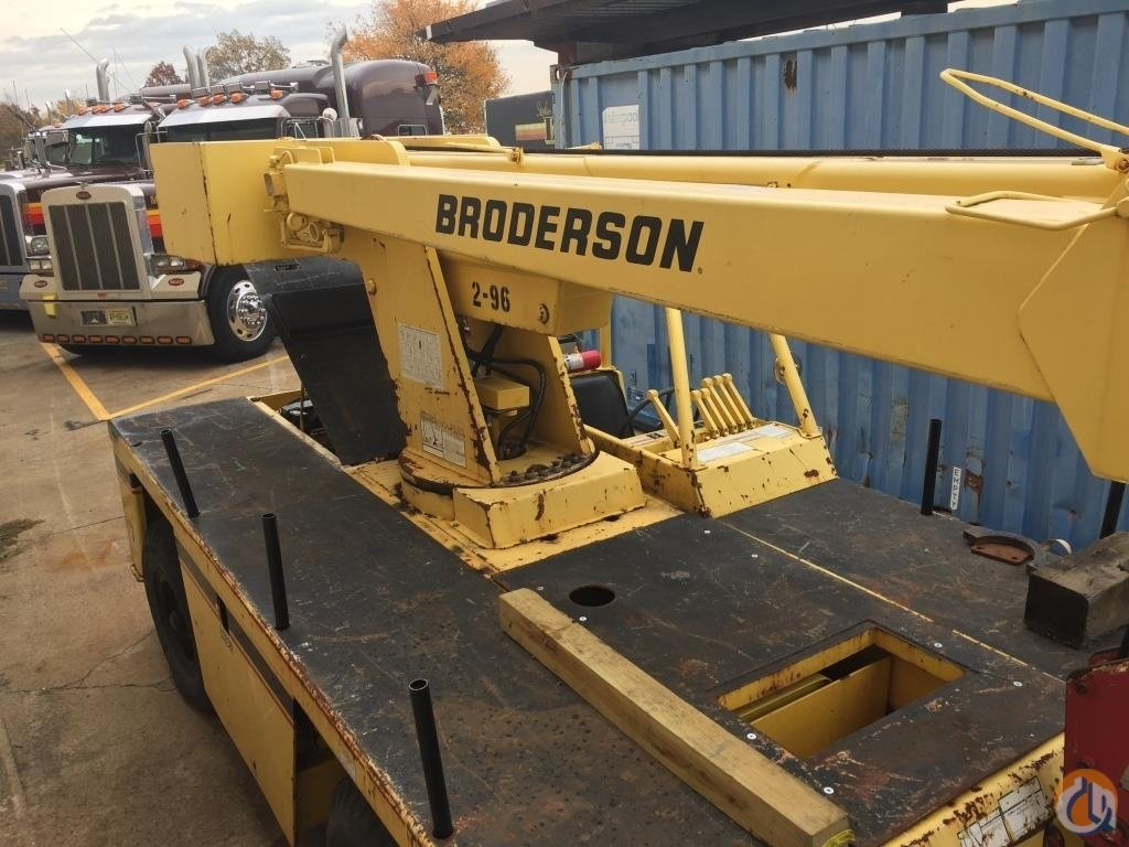 1993 BRODERSON IC80-1D Crane for Sale on CraneNetworkcom