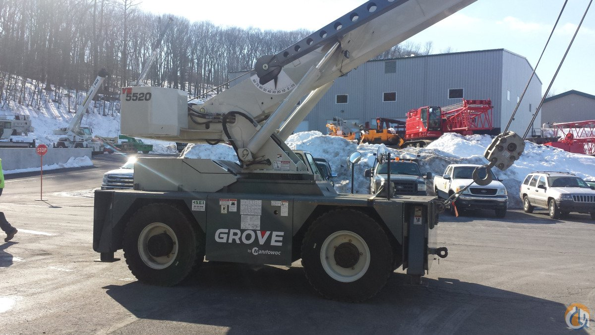 2013 Grove YB5520 Crane for Sale in Wilkes-Barre Pennsylvania on CraneNetworkcom