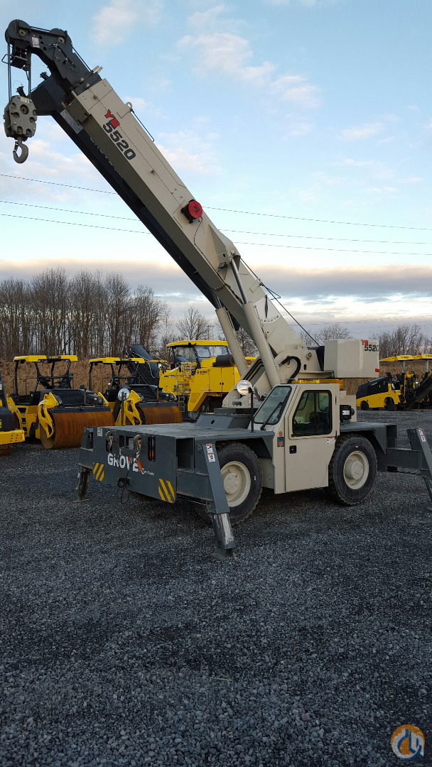 2014 Grove YB5520 Crane for Sale in Harrisburg Pennsylvania on CraneNetworkcom
