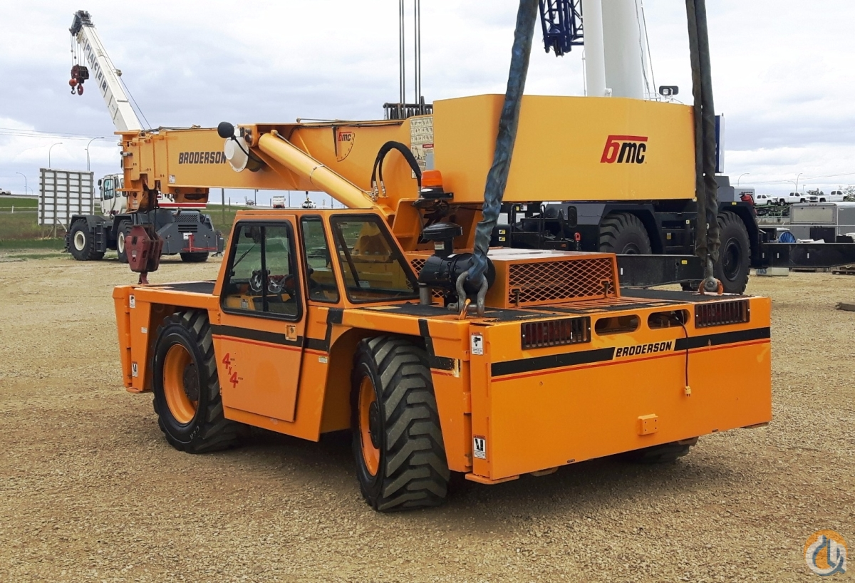 2012 Broderson IC250-3G Crane for Sale in Nisku Alberta on CraneNetwork.com