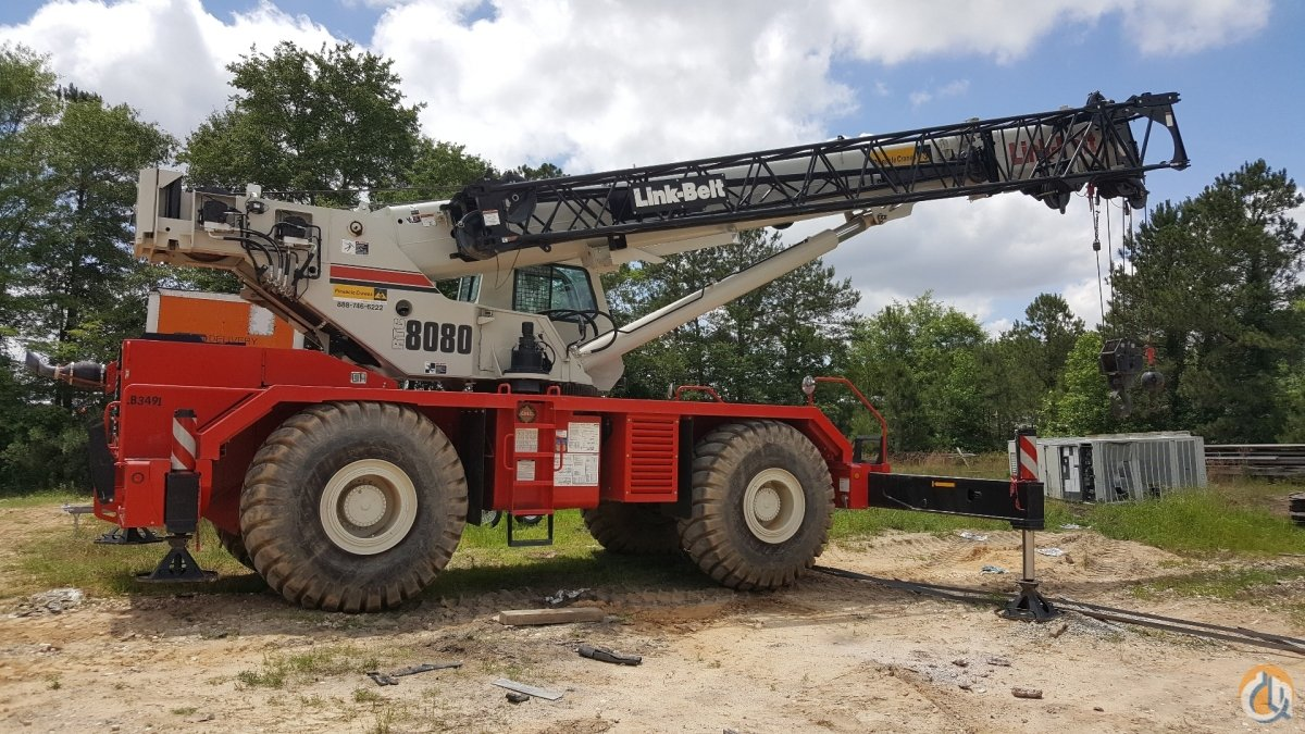 80 Ton Link-Belt RTC-8080 Crane for Sale in West Columbia South Carolina on CraneNetwork.com