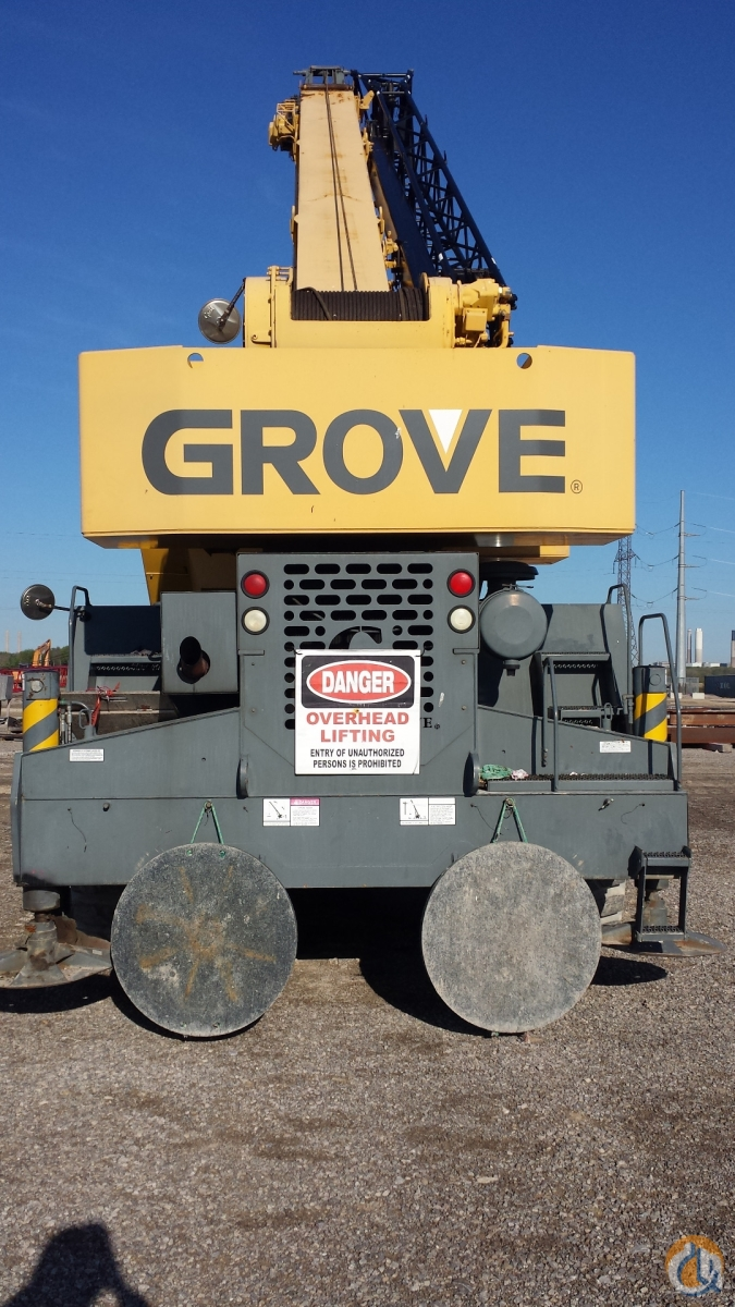 Grove RT875BXL Crane for Sale in Courtright Ontario on CraneNetwork.com