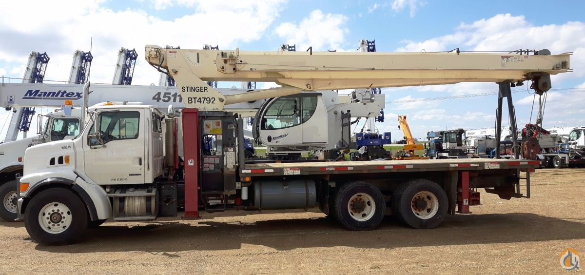 Sold 2007 Terex BT4792 Crane for  in Nisku Alberta on CraneNetwork.com