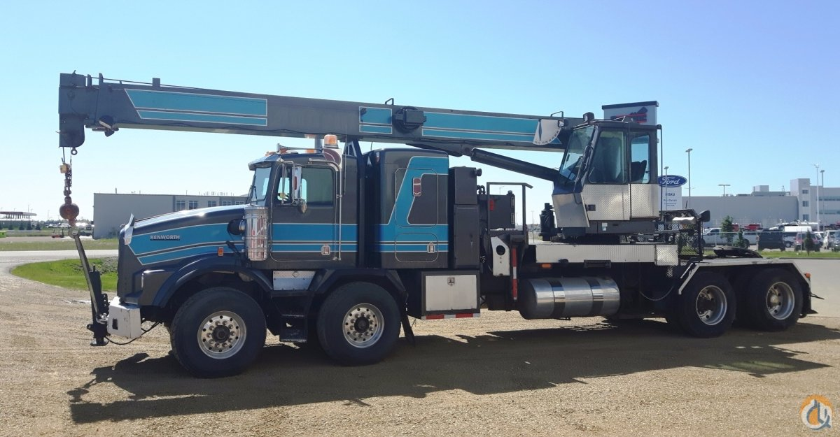 Sold 2002 National 1300 Boom Truck Crane for  in Nisku Alberta on CraneNetwork.com