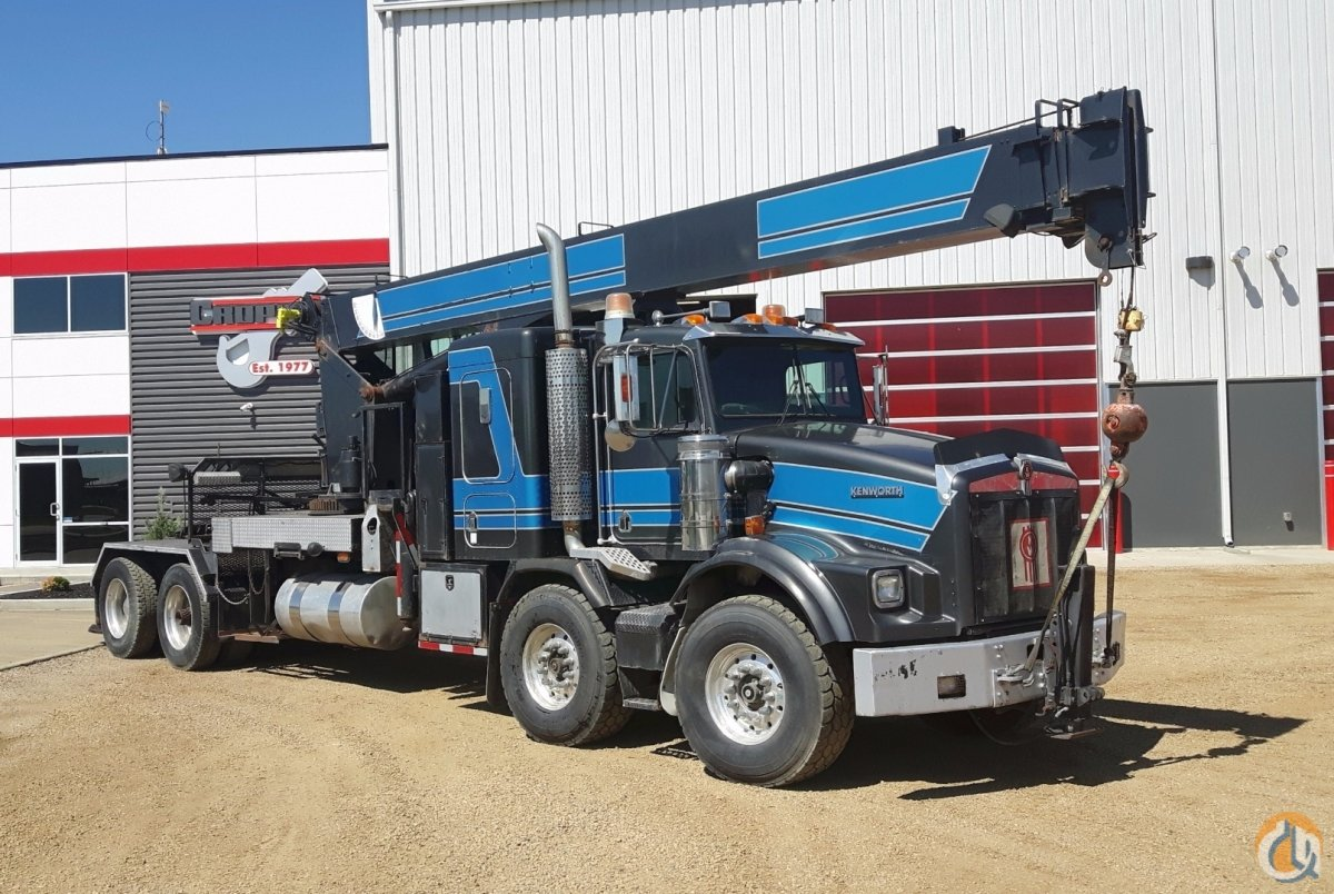 Sold 2002 National 1300 Boom Truck Crane for  in Nisku Alberta on CraneNetworkcom
