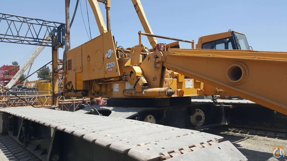 1998 Manitowoc 2250 Series 3 Crane for Sale on CraneNetworkcom