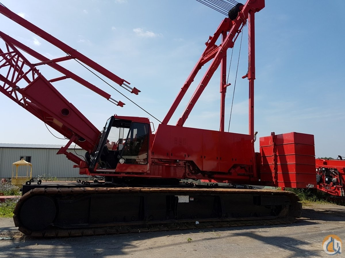 Sold 1999 Manitowoc 2250 Crane for in New Holland Pennsylvania on  CraneNetwork.com