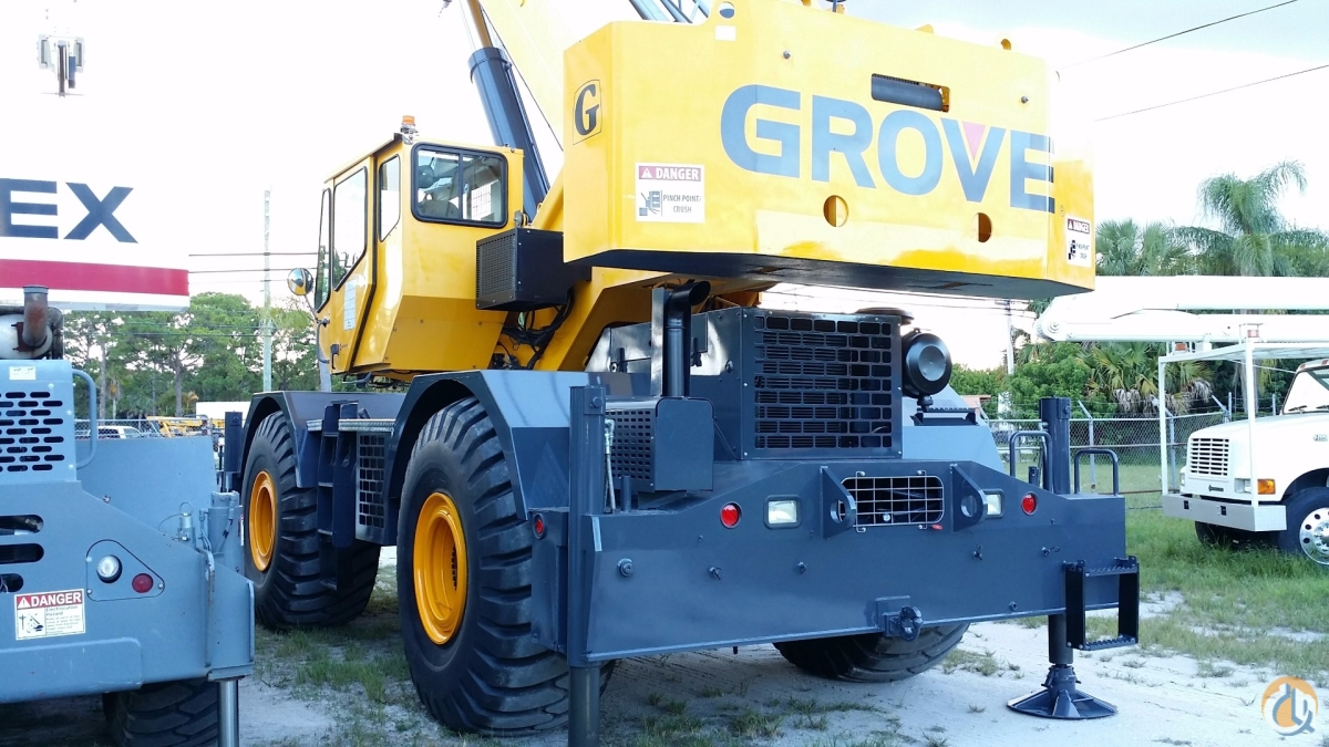 Grove RT760E Rough Terrain Cranes Crane for Sale 2008 GROVE RT760E 60 TON FOR SALE FLORIDA in Fort Pierce  Florida  United States 214951 CraneNetwork