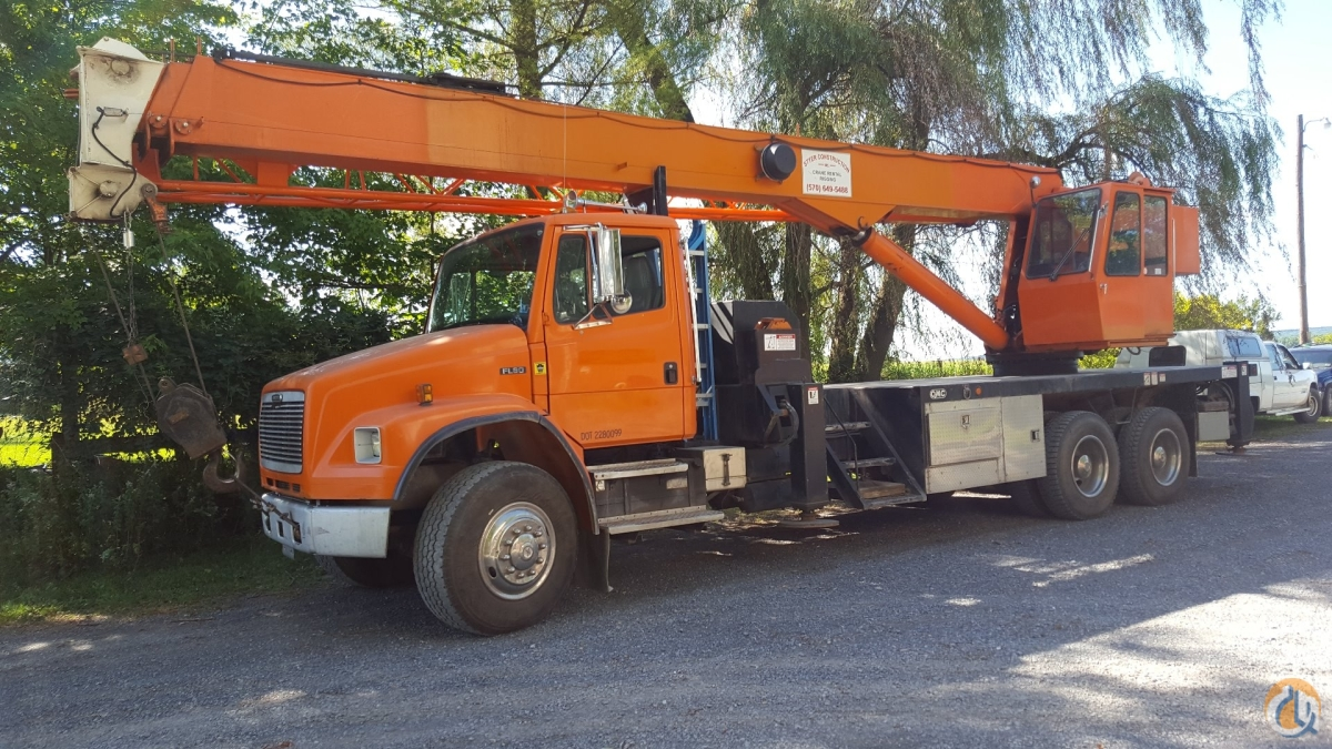 1998 GMC 4170TD Crane for Sale in Turbotville Pennsylvania on CraneNetworkcom