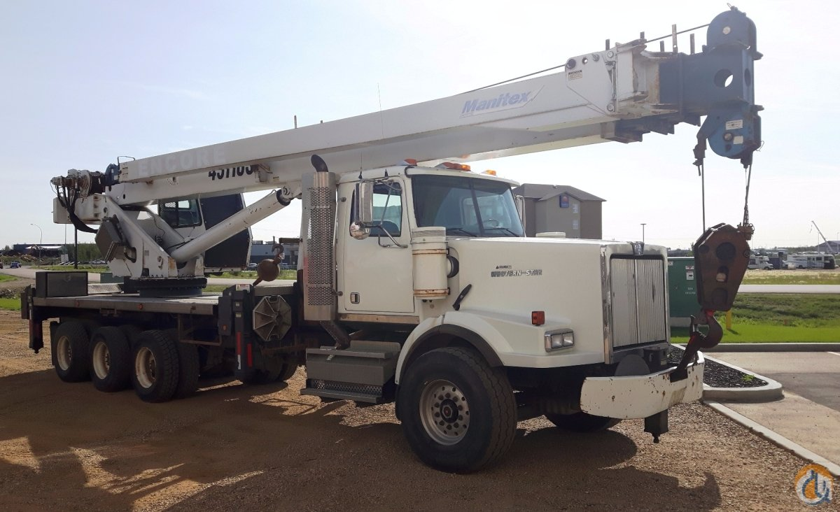 Sold 2009 Manitex 50110S Derated to 45110S Crane for  in Nisku Alberta on CraneNetwork.com