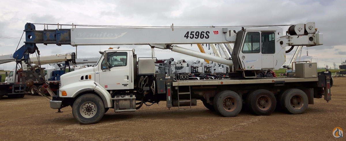 Manitex 5096S Boom Truck Cranes Crane for Sale 2007 Manitex 5096S Derated to 4596S in Nisku  Alberta  Canada 217894 CraneNetwork