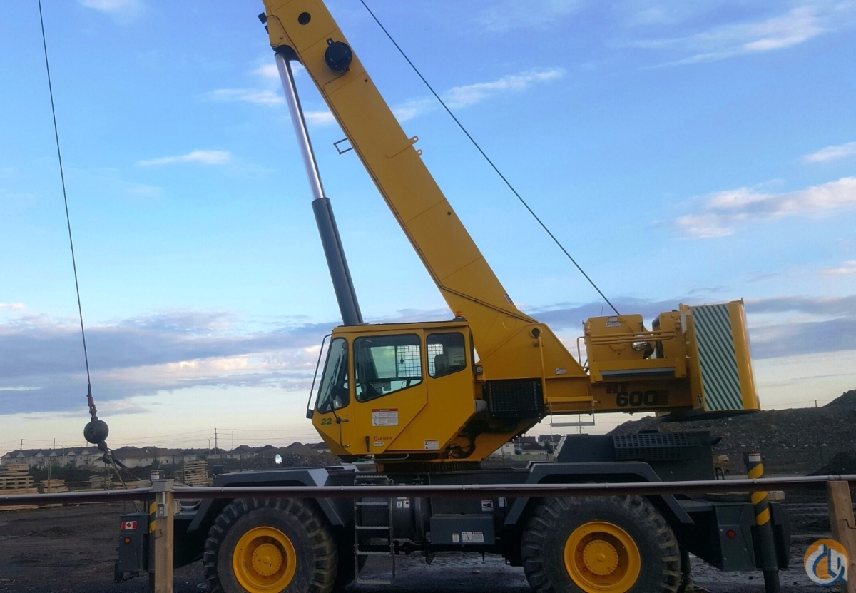 2012 Grove RT600E Crane for Sale in Oakville Ontario on CraneNetworkcom