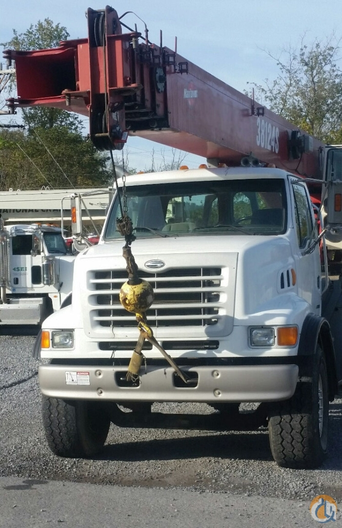 Manitex 38124S Boom Truck Cranes Crane for Sale OSHA Inspected 38124S in McDonald  Pennsylvania  United States 215070 CraneNetwork
