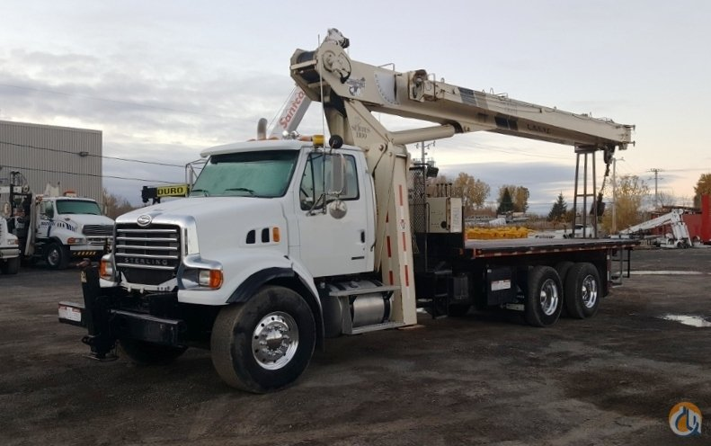 Sold 2009 National 1195 Crane for  in Laval Qubec on CraneNetworkcom