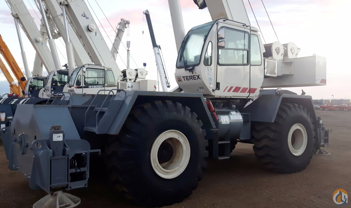 Sold 2008 TEREX RT780 Crane for  in Nisku Alberta on CraneNetwork.com
