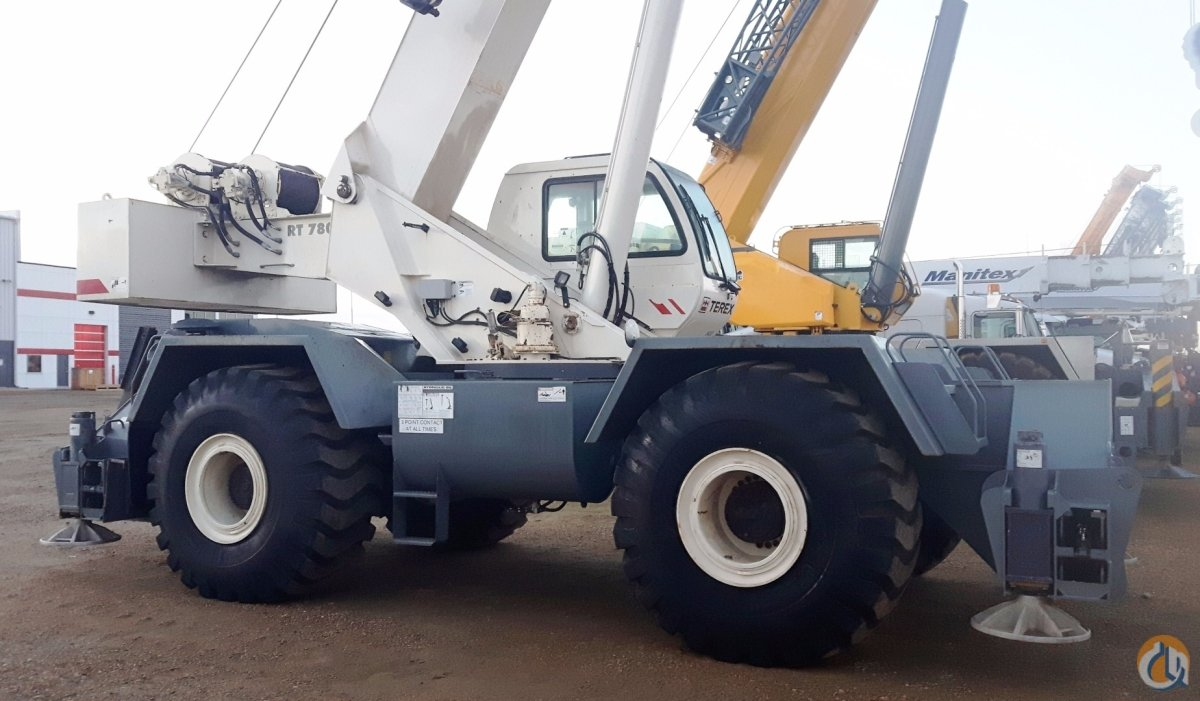 2008 TEREX RT780 Crane for Sale in Nisku Alberta on CraneNetwork.com