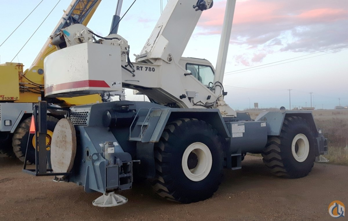 2008 TEREX RT780 Crane for Sale in Nisku Alberta on CraneNetworkcom
