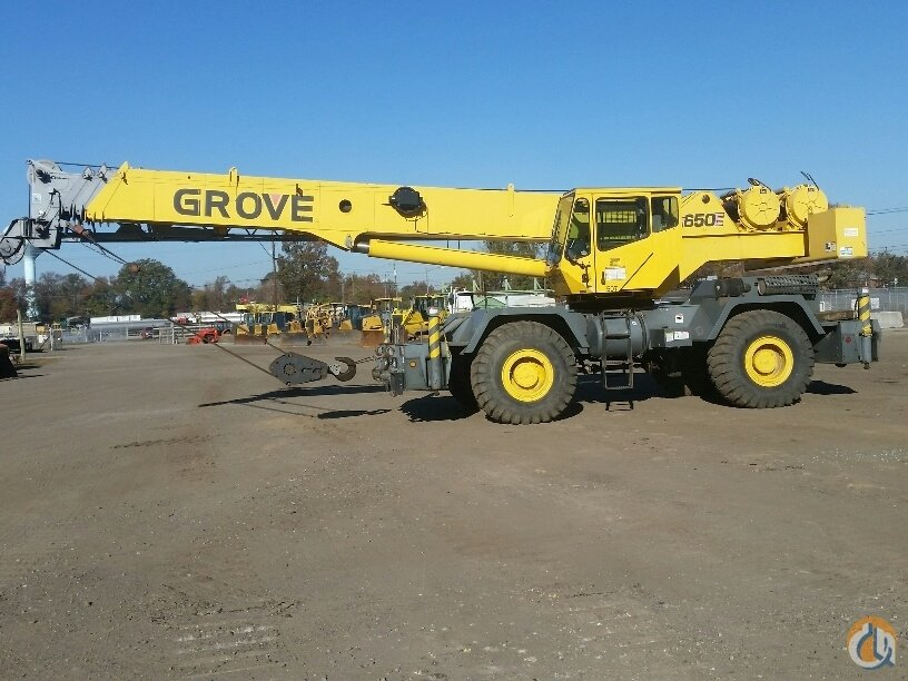 Sold 2000 GROVE RT650E Crane for  in Chesapeake Virginia on CraneNetwork.com