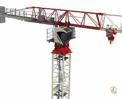 Terex-Comedil CTT182-8 TS21 2015 Crane for Sale or Rent in Abbotsford British Columbia on CraneNetwork.com