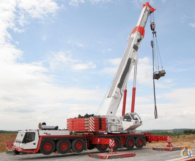 Grove GMK 7550 2009  for sale  Crane for Sale or Rent in Antwerp Flanders on CraneNetwork.com