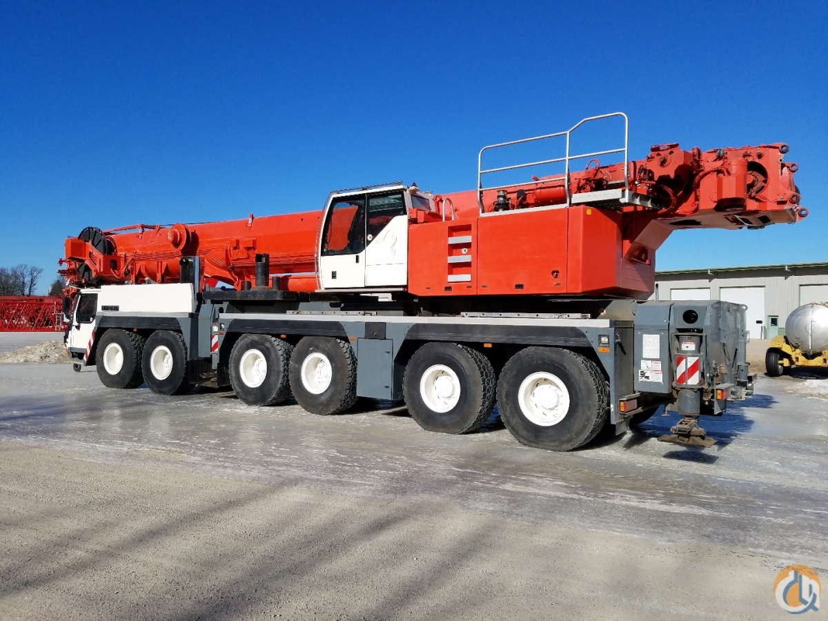 Sold 2007 Liebherr LTM1250-6.1 Crane for  in Henderson Minnesota on CraneNetwork.com