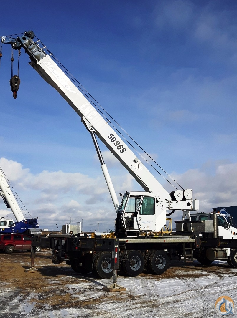 Sold 2007 Manitex 5096S Derated to 4596S Crane for  in Nisku Alberta on CraneNetwork.com