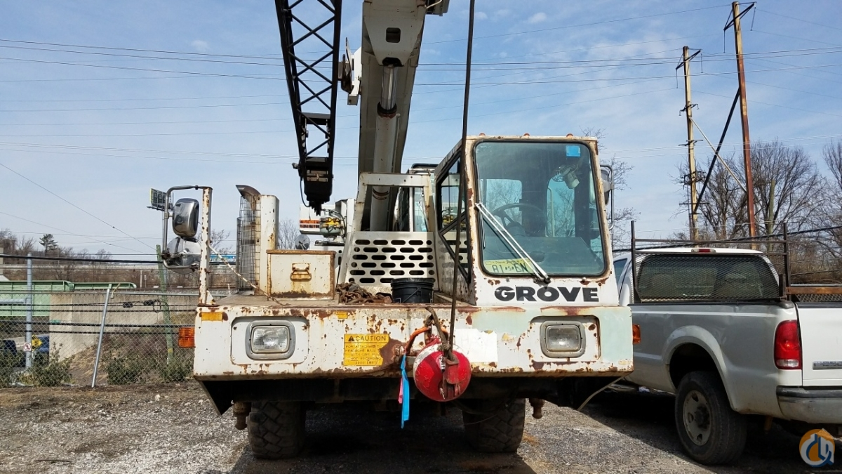 1989 Grove AT422 Crane for Sale in Philadelphia Pennsylvania on CraneNetworkcom