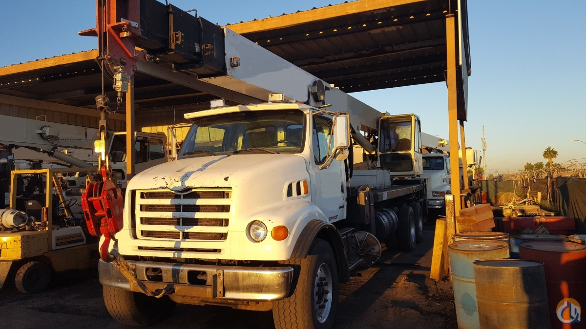1999 USTC-Sterling 28L Boom Truck Crane for Sale on CraneNetworkcom