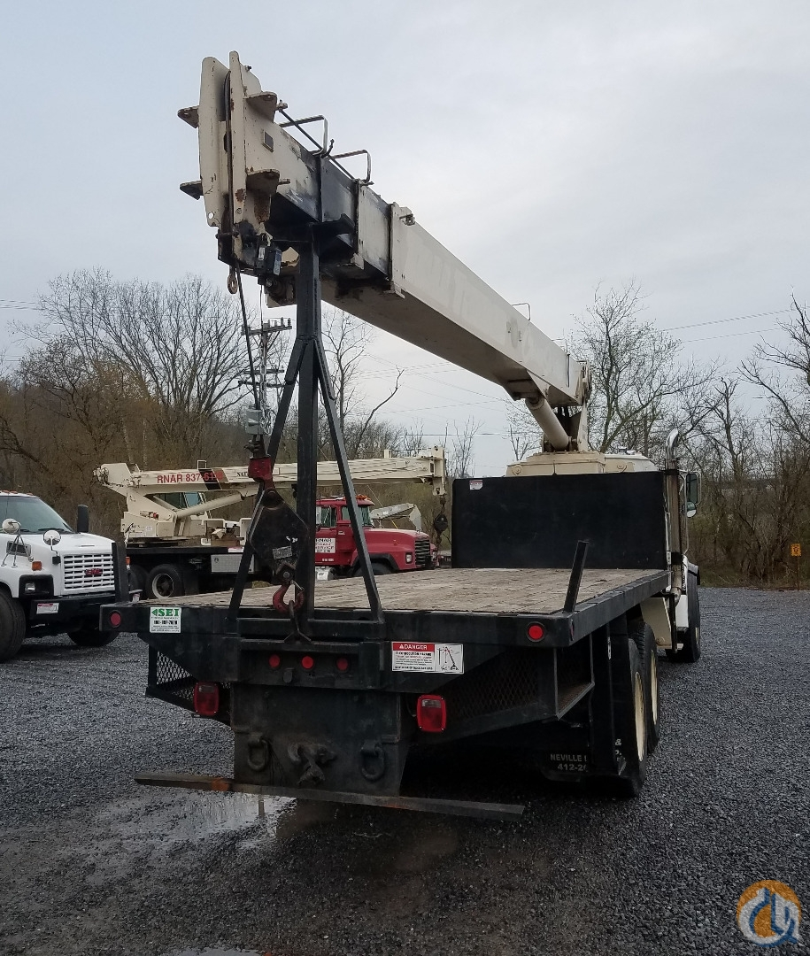 2000 National 681C Crane for Sale in Pittsburgh Pennsylvania on CraneNetworkcom