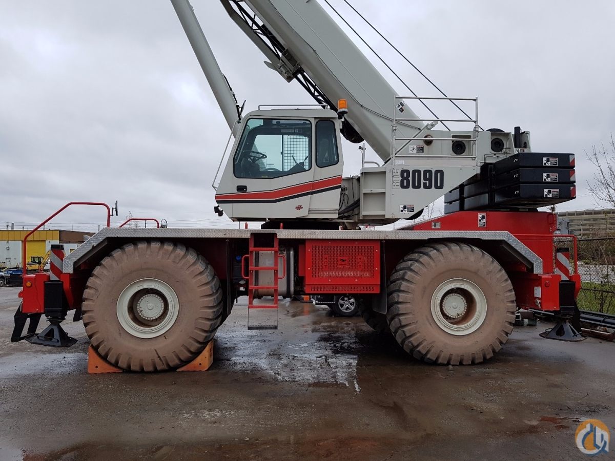 2015 Link-Belt RTC-8090 Crane for Sale in Toronto Ontario on CraneNetworkcom