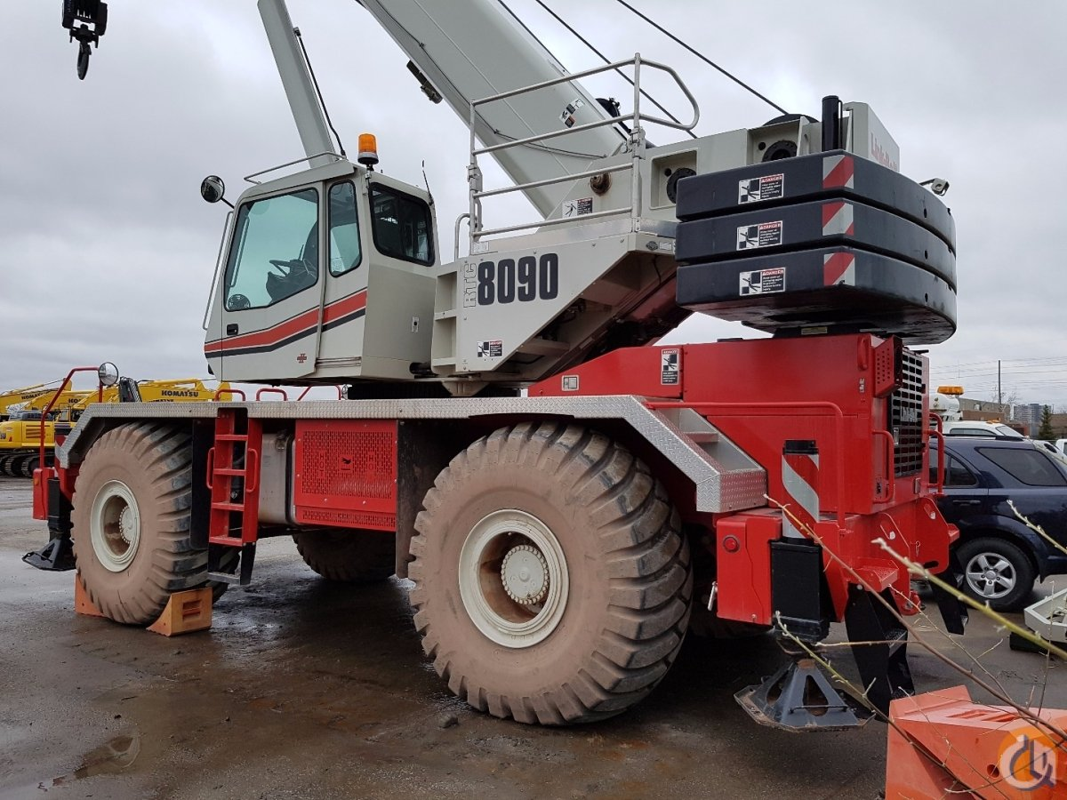 2015 Link-Belt RTC-8090 Crane for Sale in Toronto Ontario on CraneNetwork.com