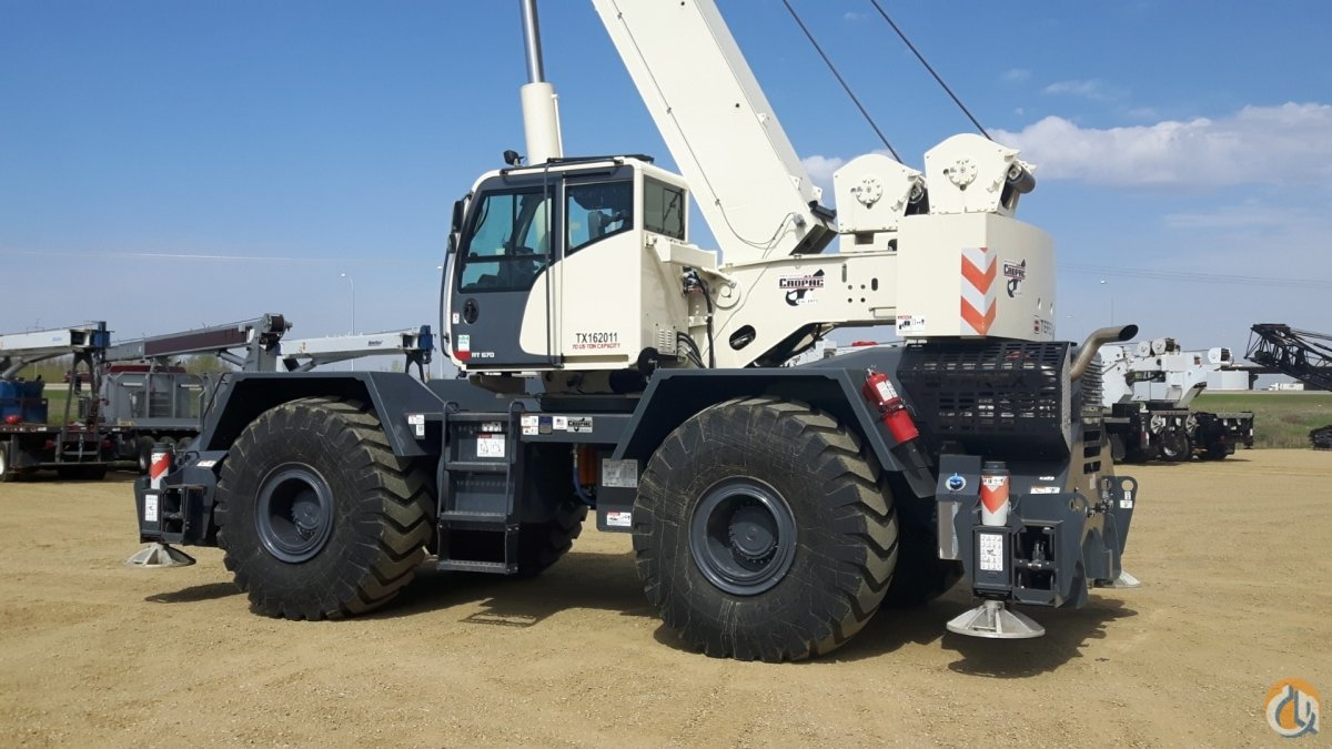 2015 TEREX RT670 Crane for Sale or Rent in Oakville Ontario on CraneNetwork.com